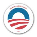 Obama's campaign logo.