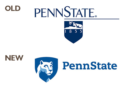 PSU-logos-old-new - Tag Strategies Blog